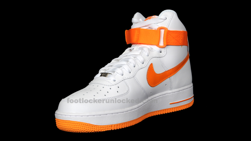 Nike Air Force 1 High 'White/Vivid Orange'