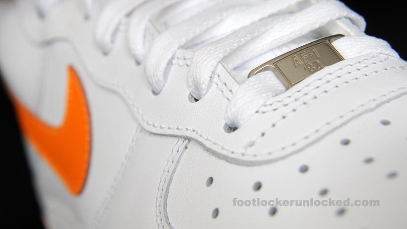 Nike Air Force 1 High 'White/Vivid Orange'