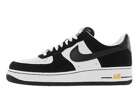 Nike Air Force 1 Low 'White/Black-Spirit Gold'