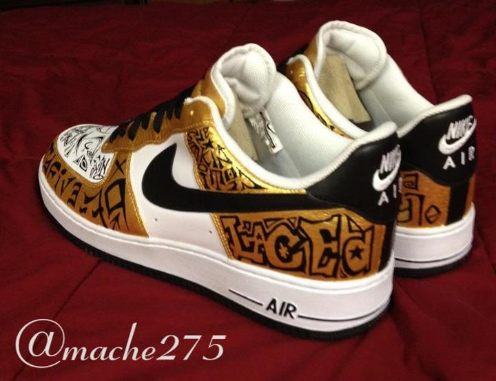 Nike Air Force 1 Low 'Slovadon/Turtle' Custom by Mache
