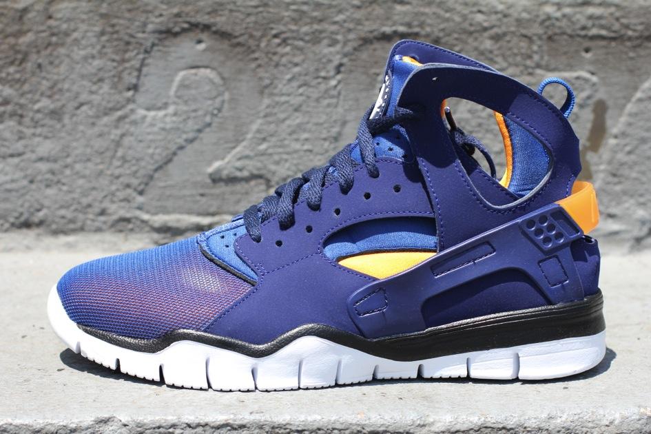Nike Air Huarache BBall 2012 'Loyal Blue/Vivid Orange'