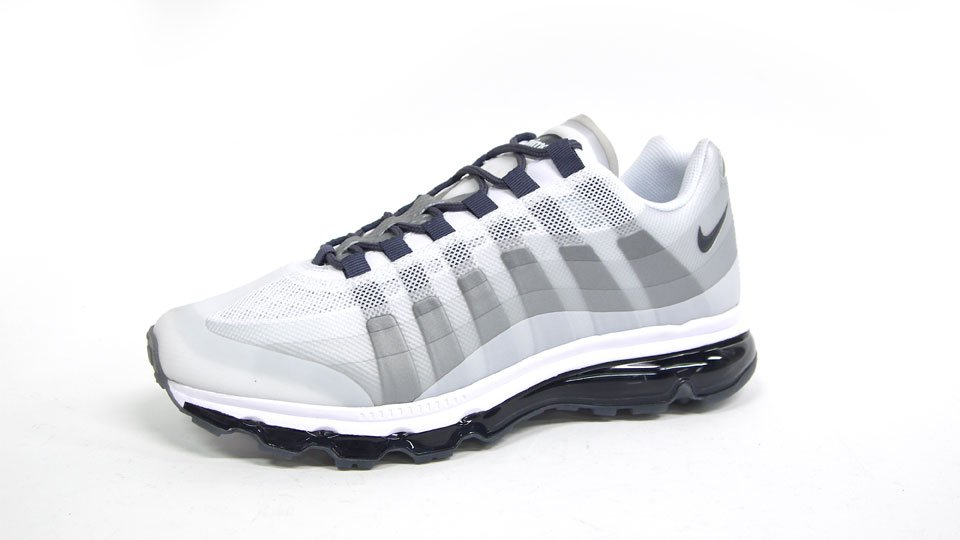 uk availability 719fa acc7b Nike Air Max 95+ BB 'White/Dark Grey-Neutral Grey-Anthracite ...