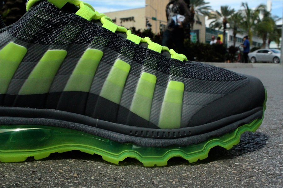 Nike Air Max 95+ BB 'Dark Grey/Volt-Wolf Grey-Anthracite' - Another Look