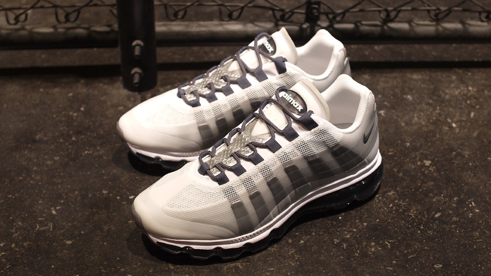 Nike Air Max 95+ BB  White Dark Grey-Neutral Grey-Anthracite ... f6b5dc027b