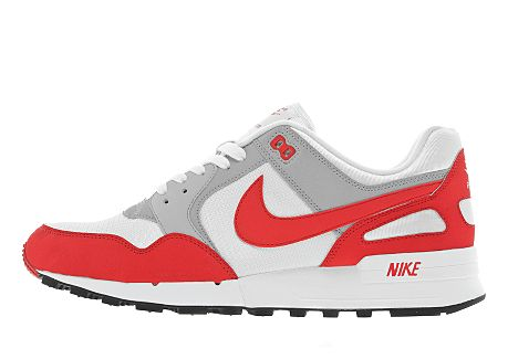 Nike Air Pegasus 89 White/Spark Red