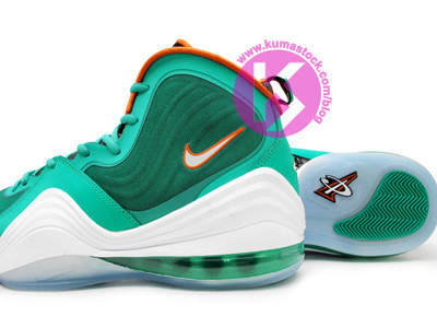 Nike Air Penny 5 'Dolphins' - Detailed Look