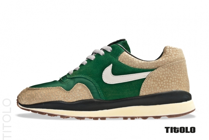 Nike Air Safari VNTG 'Gorge Green/Granite-Bamboo-Black'