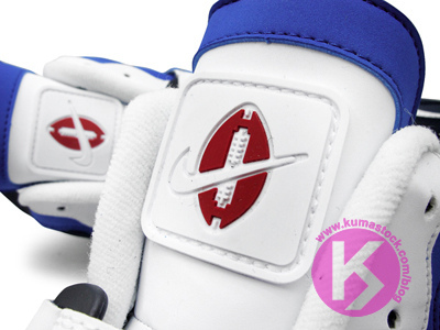 Nike Air Speed Turf Max 'White/Black-Blue-Red'