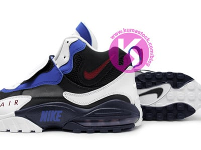 Nike Air Speed Turf Max 'White/Black-Blue-Red'
