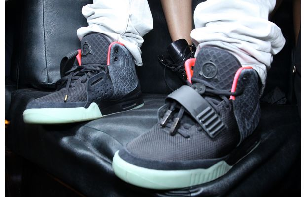 check out 49eec e1b33 Nike Air Yeezy 2  Black Solar Red  ...
