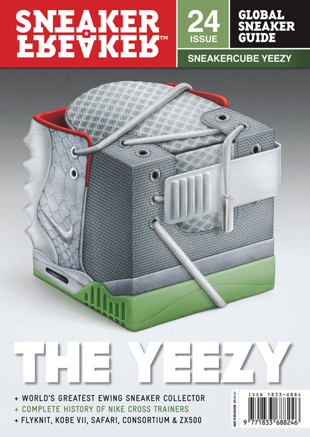 Nike Air Yeezy 2 SNEAKERCUBE in Sneaker Freaker
