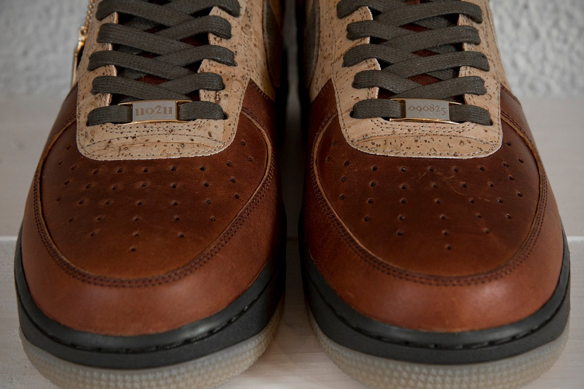 reputable site 774ff e6758 Nike Bespoke Air Force 1 by Erik of Sneakersnstuff