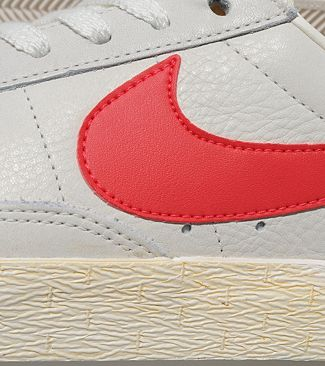 Nike Blazer Low Vintage 'Sail White/Red' size? Exclusive