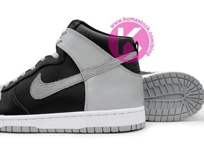 Nike Dunk High 'Black/Grey'