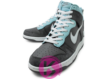 Nike Dunk High 'Grey/Cyan'