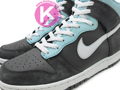 Nike Dunk High 'Grey/Cyan'