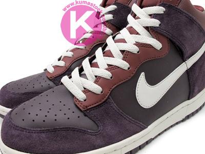Nike Dunk High 'Plum/Maroon'