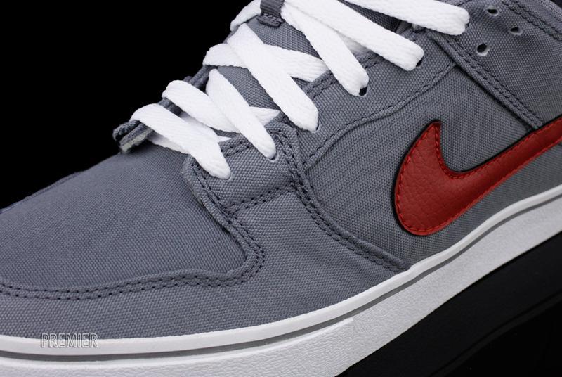 Nike Dunk Low LR 'Cool Grey/Varsity Red-White'