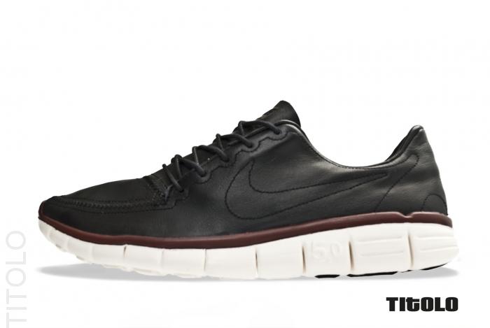 a7c56cd92b4c Nike Free 5.0 V4 Deconstruct  Black Black-Sail-Team Brown ...