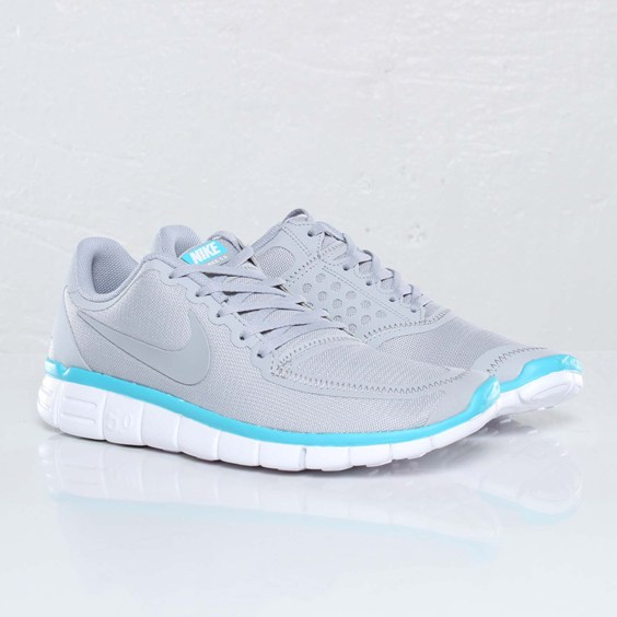nike free 5.0 grey and blue