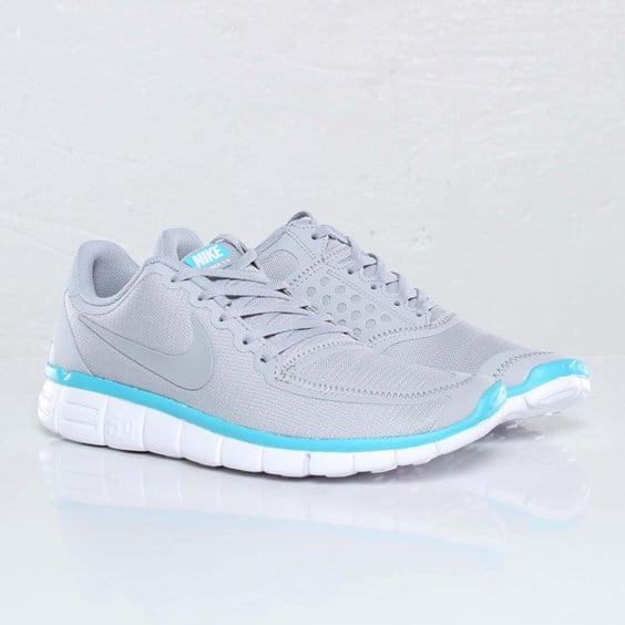 nike free 5.0 grey and blue