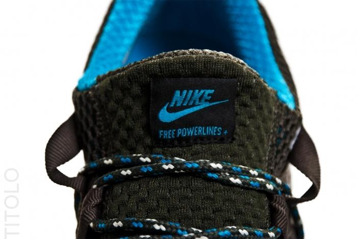 Nike Free Powerlines+ 'Medium Grey/Black-Midnight Fog'