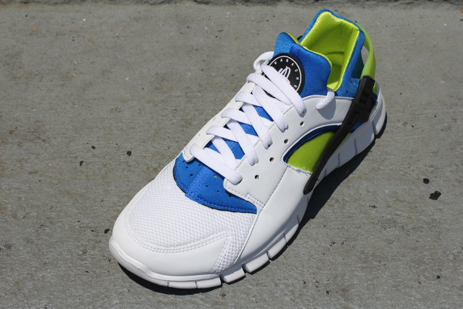 Nike Huarache Free 2012 'OG Inspired' White Soar Cyber
