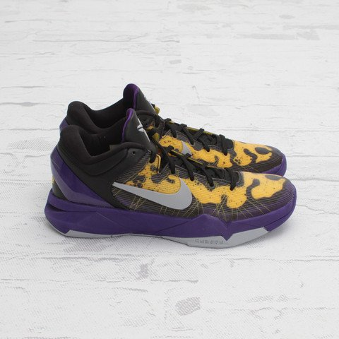 Nike Kobe 7 Poison Dart Frog 'Lakers' - One Last Look