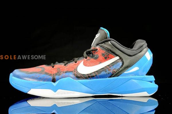Nike Kobe 7 Poison Dart Frog 'Photo Blue/White-Team Orange-Black' - Release Date + Info