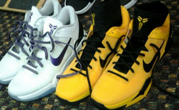 Nike Kobe 7 System Supreme 'Yellow/Black' PE