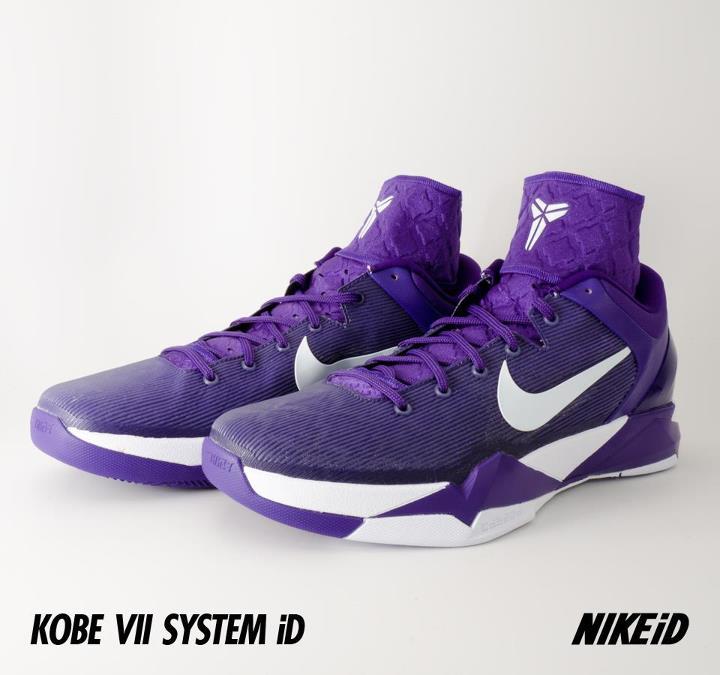 Nike Kobe 7 System iD 'Concord/White'