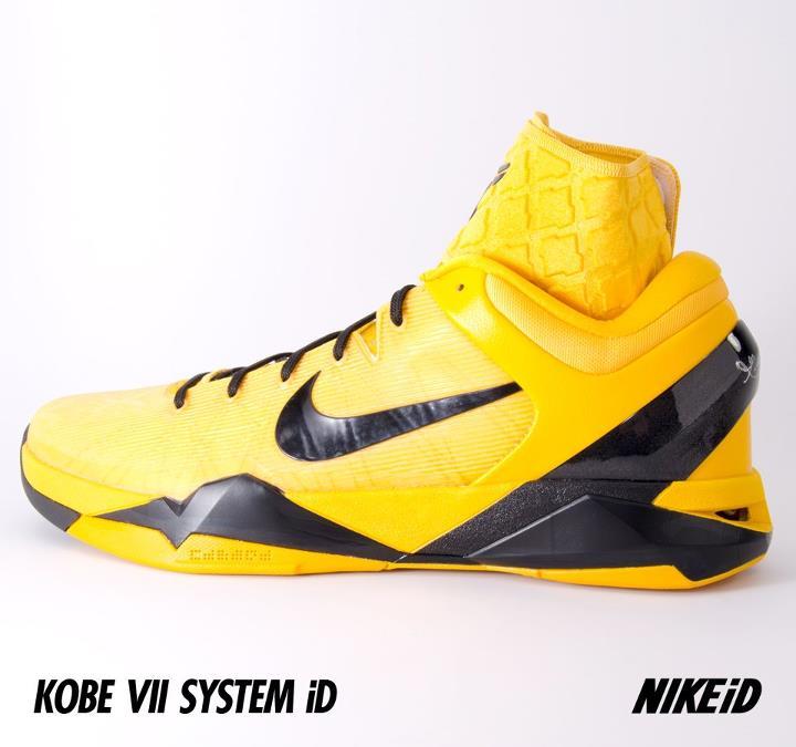 Nike Kobe 7 System iD 'Del Sol/Black'