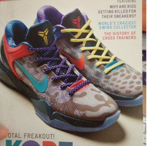 Nike Kobe 7 'What The Kobe'
