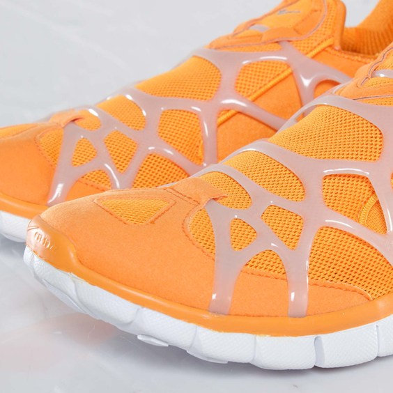Nike Kukini Free 'Vivid Orange/Medium Grey-White'