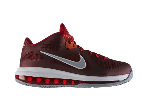 Nike LeBron 9 Low Team Red - Now Available at NikeStore