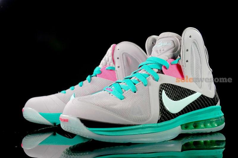 88a70fefc565 Nike LeBron 9 P.S. Elite  South Beach  - Detailed Imagery