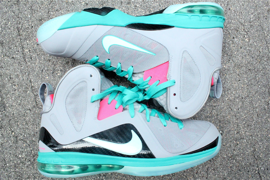 Nike LeBron 9 P.S. Elite 'South Beach' at Mr. R Sports