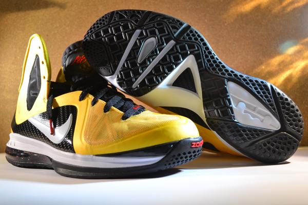 Nike LeBron 9 P.S. Elite Varsity Maize at Millennium Shoes