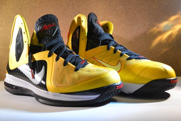 Nike LeBron 9 P.S. Elite Varsity Maize at Millennium Shoes