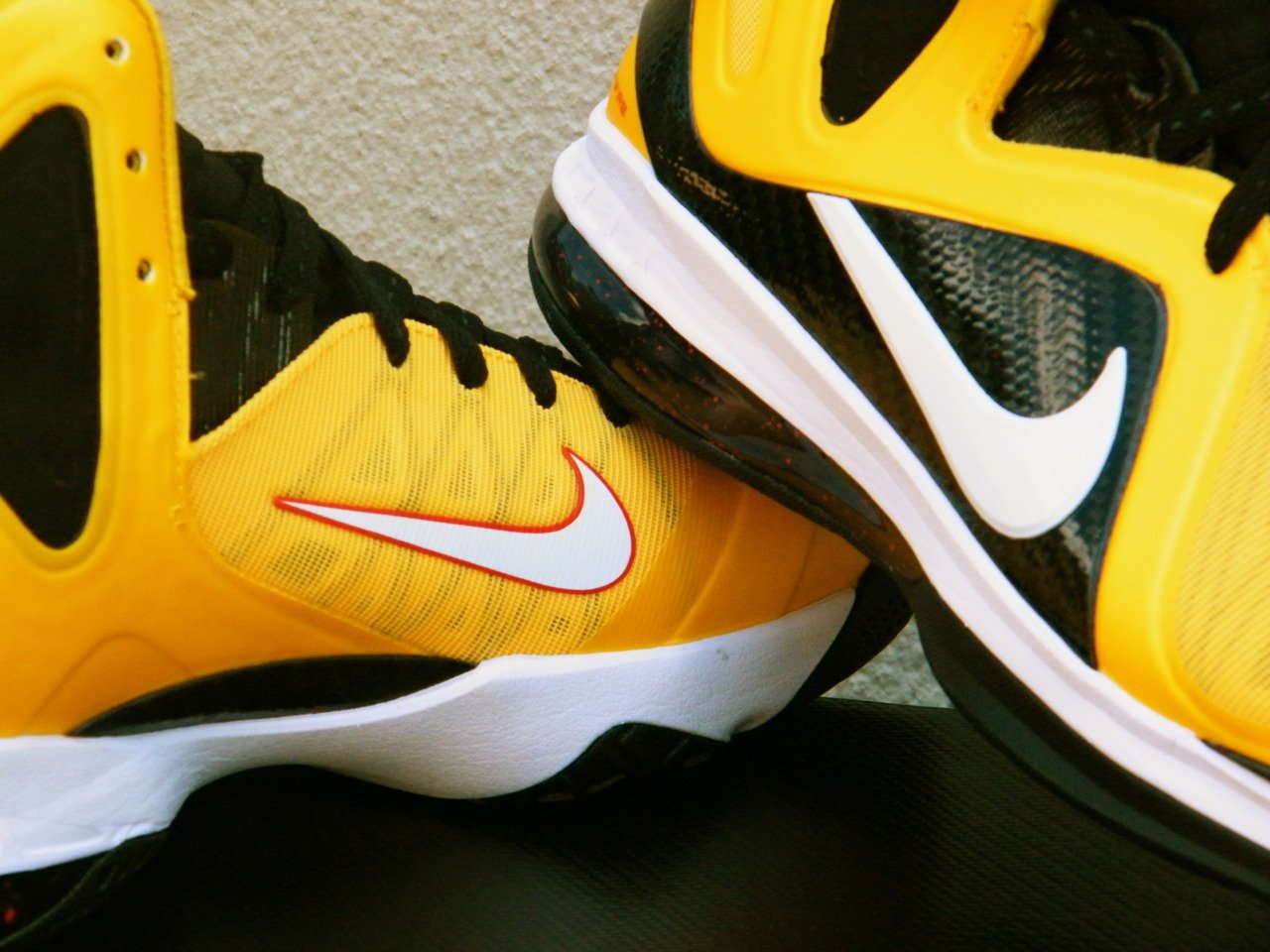 Nike LeBron 9 P.S. Elite Varsity Maize at Rock City Kicks