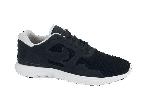 Nike Lunar Flow Woven QS 'Black/Black-Light Bone'
