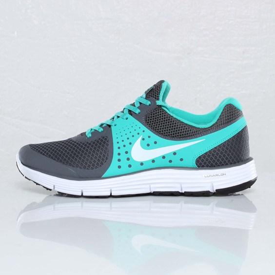 Nike LunarSwift+ 4 'Dark Grey/White-New Green-Volt'