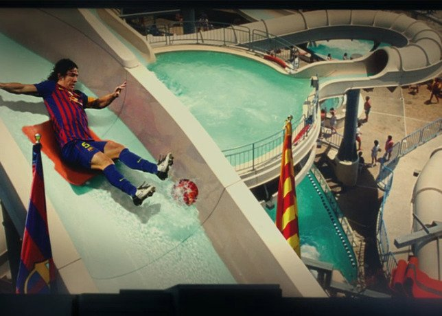 Nike  My Time Is Now  Campaign Features Tour of FC Barcelona Academy ... 8d329f3b18f7