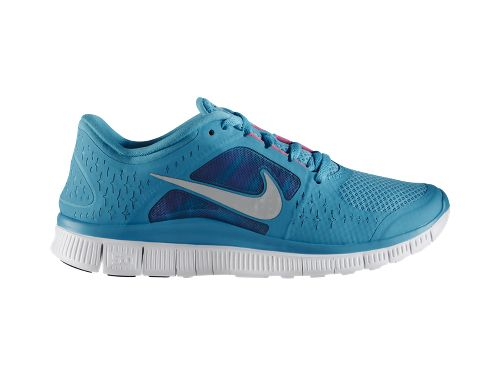 Nike N7 Women's Free Run+ 3 'Dark Turquoise/Reflective Silver-White-Pink Flash' - Now Available at NikeStore
