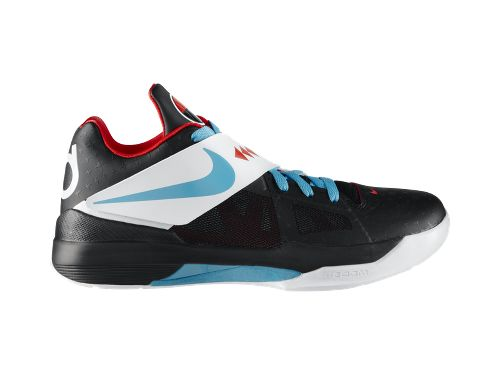pretty nice 4a62b bf372 Nike N7 Zoom KD IV  Black Dark Turquoise-Chilling Red-White