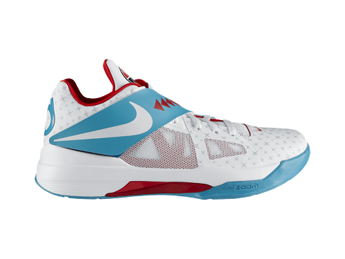 Nike N7 Zoom KD IV 'White/White-Dark Turquoise-Chilling Red' - Now Available at NikeStore