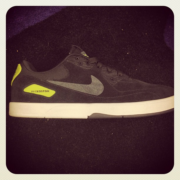 Nike SB Eric Koston Heritage Black/Volt