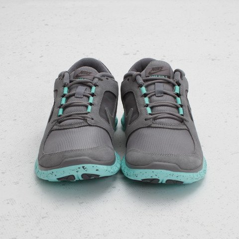 new arrivals df6fb 74959 Nike Women s Free Run+ 3 EXT  Cool Grey Tropical Twist