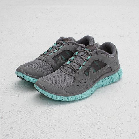 Nike Women's Free Run+ 3 EXT 'Cool Grey/Tropical Twist'
