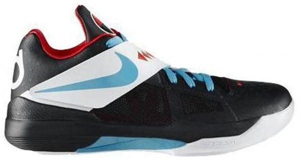 Nike Zoom KD IV N7 Black/Dark Turquoise-Challenge Red - Release Date + Info